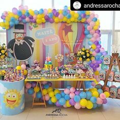 Balloon Cake, Ivy, Balloons, Alice, Google, Party, Girls Party Decorations, Princess Birthday Parties, Receptions