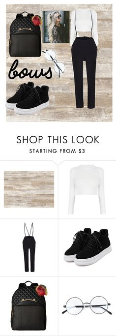 """""""Untitled #45"""" by aruzhan-gabdilashimova ❤ liked on Polyvore featuring WALL and Betsey Johnson"""
