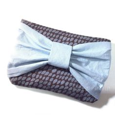 DIY Bow Clutch - FREE Sewing Pattern and Tutorial