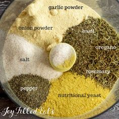 Chicken Bouillon Powder - Low Carb, Keto, Gluten-Free, THM FP - When you are in a pinch or just want a healthy chicken broth substitute this Chicken Bouillon Powder is the ideal staple to keep in the…More Chicken Broth Substitute, Make Chicken Broth, Vegan Chicken Bouillon Recipe, Homemade Spices, Homemade Seasonings, Keto Vegan, Vegetarian Keto, Raw Vegan, Vegan Curry