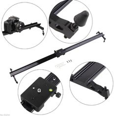 "69.99$  Watch now - http://alicol.shopchina.info/go.php?t=32720358617 - ""Details about  Pro 31"""" 80cm camera track slider dolly video stabilizer system For DSLR Camcorde""  #buyonlinewebsite"