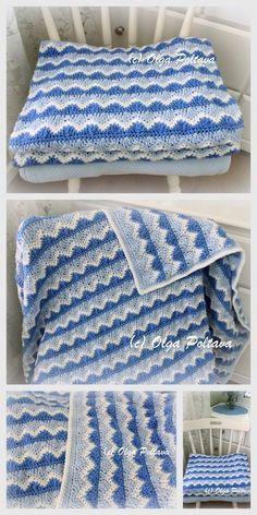 Baby Blanket Httpmodeles Bebe Crochetoverblogcomtagcouvertures_et_accessoires5