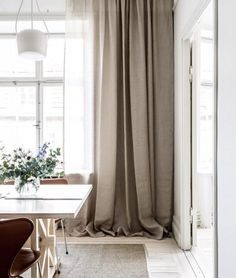 7 Industrious Tips AND Tricks: Purple Curtains Photo Booths drop cloth curtains sunroom.Burlap Curtains With Fabric velvet curtains architectural digest. Beige Curtains, Drop Cloth Curtains, Long Curtains, Floral Curtains, Curtains Living, Velvet Curtains, Hanging Curtains, Linen Curtain, Patterned Curtains