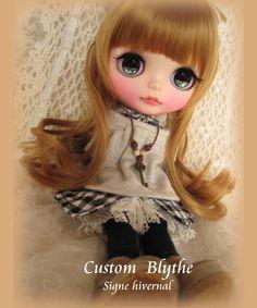 *カスタム ブライス*Custom Blythe*Signe hivernal_画像2