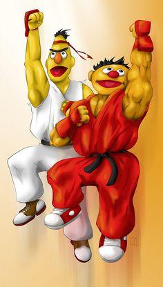 Popped Culture: Sesame Street Fighter II