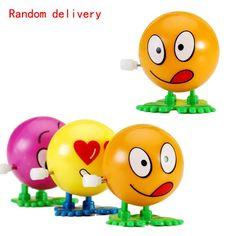 Весна младенцы игрушки атака по охране окружающей среды материалы Colorful забавный лицо сальто бег заводной заводить игрушки WJ0181 купить на AliExpress