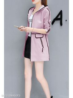 Cheap Coats, Casual Looks, Hoods, Contrast, Apd, Sexy, Clothes For Women, Womens Fashion, Stuff To Buy