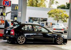Honda Civic Hatchback, Honda Crx, Ek Hatch, Civic Eg, Import Cars, Japan Cars, Jdm Cars, Car Photography, Custom Cars