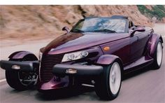 Fabulous retro nod to the hotrod--the Plymouth Prowler
