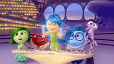 gif+inside+out | ... fear anger emotions disney pixar joy disgust inside out animated GIF