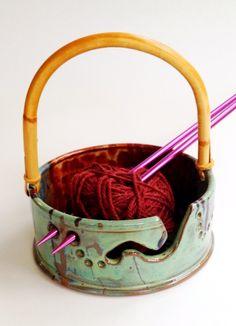 Yarn Bowl by Linda Neubauer