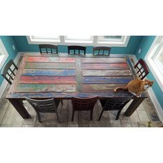 World Menagerie Anderle Solid Wood Dining Table Dining Table Sizes, Counter Height Dining Table, Solid Wood Dining Table, Extendable Dining Table, Dining Table In Kitchen, Wood Table, Dining Tables, Rustic Kitchen, Wood Boats