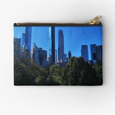 Central Park, Gifts For Family, Zipper Pouch, Makeup Yourself, Are You The One, New York City, Vibrant, Cold, Art Prints
