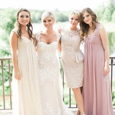 Beautiful bride with her beautiful mom & sisters  #mswedding #msweddingplanner  #southernwedding #meridianmswedding