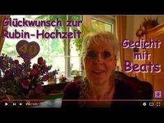 FG167 – Herzlichen Glückwunsch zum 40. Hochzeitstag ❤ Gedicht zur Rubin-Hochzeit ... #GedichtZumHochzeitstag #GlückwunschZumHochzeitstag #GlückwünscheZumHochzeitstag #GuteWünscheZumHochzeitstag #VierzigsterHochzeitstag #Hochzeitstag  #Gedicht #Gedichte #Lyrik #Poesie #Verse #Reime #Poem #Poetry #Lyric #Lyrics #Sprüche #Video #Videos #Video_Clip #Video_Clips #YouTube_Video #YouTubeVideo #YouTube_Videos #YouTubeVideos #VideoClip #GedichtVideo #Gedicht_Video #SmallYouTuber  #GedichtmitMusik