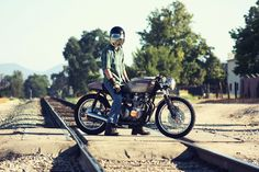 Honda Cafe Racers Modern And Classic Design › Honda CB550 Copper Cafe is a Unique Cafe Racer