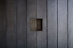 Shou Sugi Ban Walls Tucson Mountain Retreat