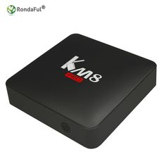 [Visit to Buy] #Advertisement Original KM8 Pro Smart TV Box Android 6.0 Amlogic S912 Octa Core Bluetooth 4.0 Dual Band WiFi 2GB 8GB/16GB Media Player STB