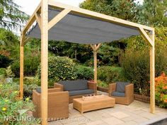 alternative pergola design uk - Google Search