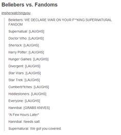 The Supernatural fandom backup grows!