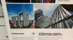 The design of the Pinnacle is important to the design history of Singapore as it is one of the first flats that was designed to take on a more futuristic design and more similar to the designs of condominiums.