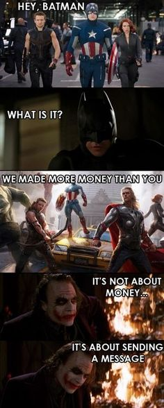 Yea! Im a fan of marvel films, but I think that Nolan trilogy is the best superhero movie ever!