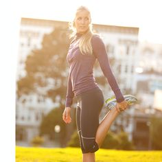 Endurance workout capri   Moving Comfort