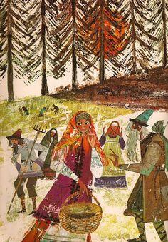 lies.com » russian-style:Krystyna Turska – Illustrations to Russians Fairy…