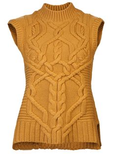 DEREK LAM - Cable  Knit Sweater