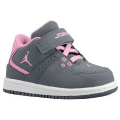 Jordan 1 Flight Mid - Girls' Toddler at Foot Locker Toddler Shoes, Kid Shoes, Toddler Outfits, Girls Shoes, Kids Outfits, Baby Jordans, Jordans Girls, Retro Jordans, Shoes Jordans