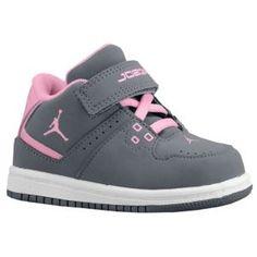 Toddler Girls Jordans - for her shoe obsessed daddy.