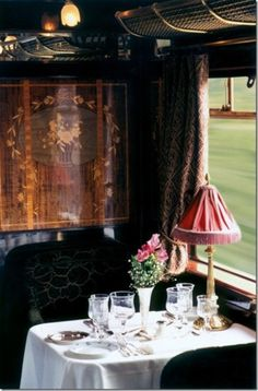 Orient Express:  this should be on everyone's bucket list... not kidding.