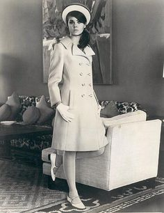 Spring fashion, 1966. Colleen Corby