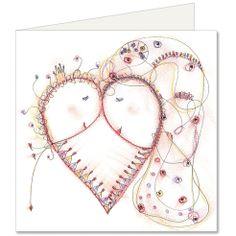 Herz Shops, Wreaths, My Love, Artwork, Home Decor, Stuff Stuff, Postcards, Heart, Love