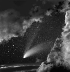 Comet Hale-Bopp from Celestial Nights Series by Neil Folberg, 1997-2001