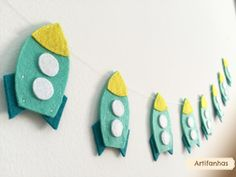 Hey, I found this really awesome Etsy listing at https://www.etsy.com/listing/237880138/rocket-garland-spaceship-nursery-decor