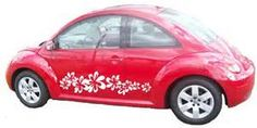 vw bug with decals - Bing Images