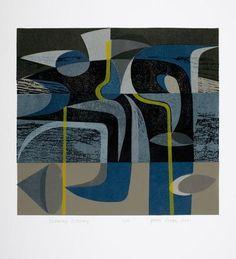 Peter Green OBE - The Scottish Gallery, Edinburgh - Contemporary Art Since 1842 Stencil Printing, Screen Printing, Abstract Drawings, Abstract Art, Abstract Shapes, Painting Gallery, Art Abstrait, Contemporary Art, Contemporary Printmaking