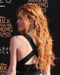Katherine McNamara – Disney's 'Alice Through The Looking Glass' Premiere in Hollywood 5/23/2016
