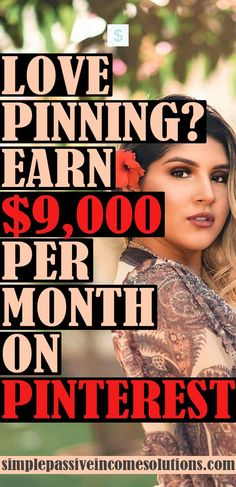 Learn how you can make money on Pinterest. Today I will show you step-by-step how to make money on Pinterest (even without a blog). #makemoney #sidehustle #pinterestmoney It's time for you to make…More