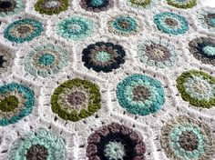 modern new crocheted colors