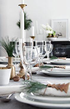 Christmas table decorating ideas 13