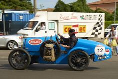 Bugatti at Millemiglia