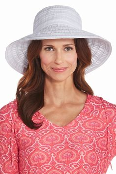 0d3d6c7a Shop chic Sun Protective Hat styles with total UV protection. Wide 4 1/4