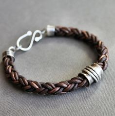 Leather bracelet by isabella