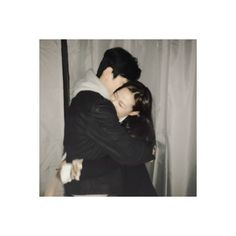 ulzzang couple icons ❤ liked on Polyvore featuring couples and aesthetic