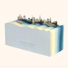 New York Bookmark & Notepad Set