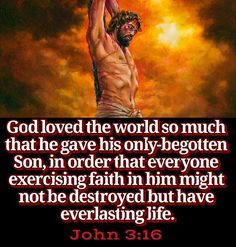 """The Bible repeatedly mentions this great act of love by man's Creator. Paul reminded Christians that they """"were bought with a price."""" (1Corinthians 6:20; 7:23) Peter wrote that God used, not gold or silver, but the blood of his Son to deliver Christians"""