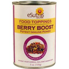 Boost UP your food!