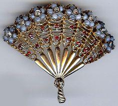 Vintage fan pin